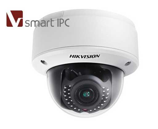 H265 500万半球型网络摄像机DS 2CD5152F (I)(Z)  监控设备  第1张