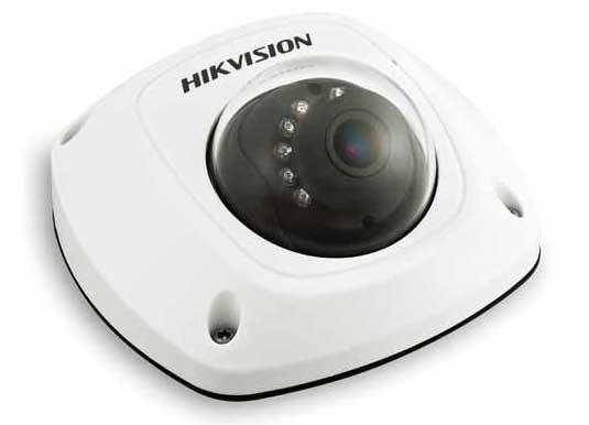 DS-2CD2555F-I(W)(S)日夜型防水防暴迷你半球网络摄像机 监控设备