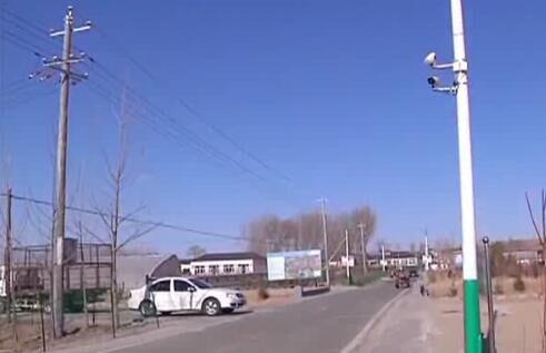 水泉镇合发村在全盟村一级率先安装监控设备  监控新闻  第1张