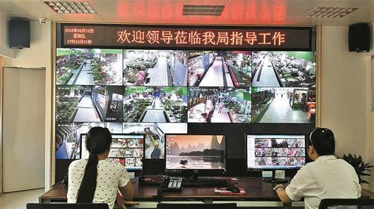 汉阳32个集市均安装监控  监控新闻  第1张