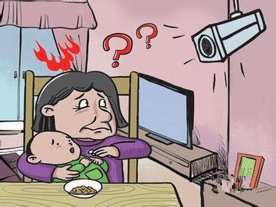 婆婆帮忙带孙子 不料儿媳装监控监视自己  监控新闻  第1张